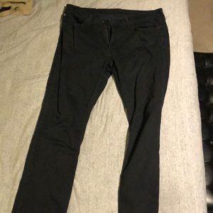 Levi black W34 L32 Jeans